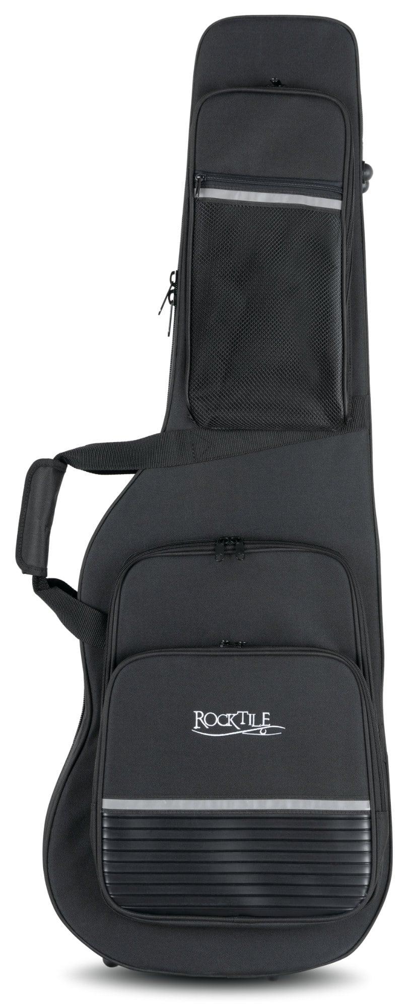 Rocktile Gig Bag Case Lightweight for 4//4-Sized Electric Guitars BlackRocktile Gig Bag Case Lightweight for 4//4-Sized Electric Guitars Black