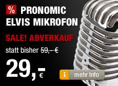 Pronomic Elvis Mikrofon - SALE - ABVERKAUF