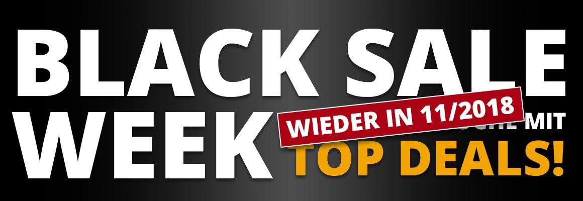 Black Sale Week - Eine ganze Woche mit Top Deals!