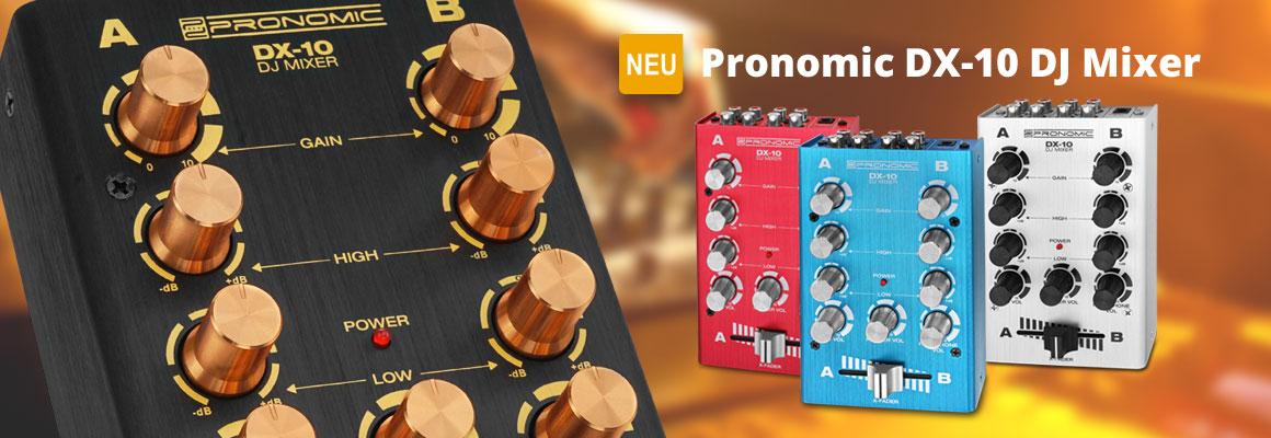 Pronomic DX-10 DJ Mixer