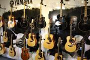 Yamahagitarren Musikkhaus Kirstein.