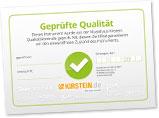 Zertifikat geprüfte Qualität
