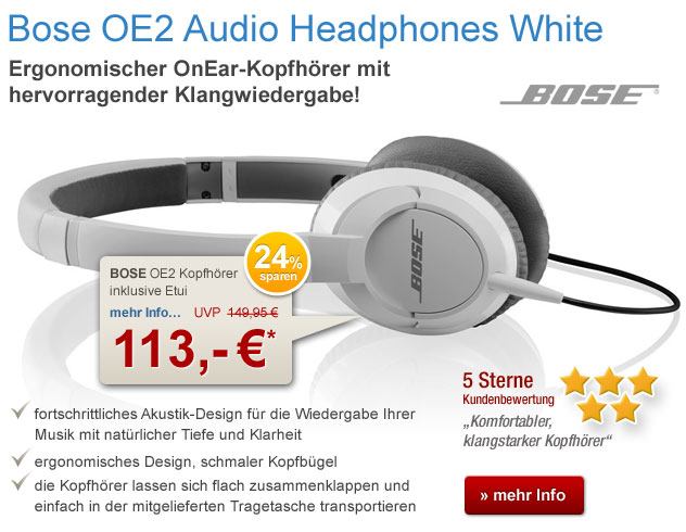 BOSE OE2 Headphones