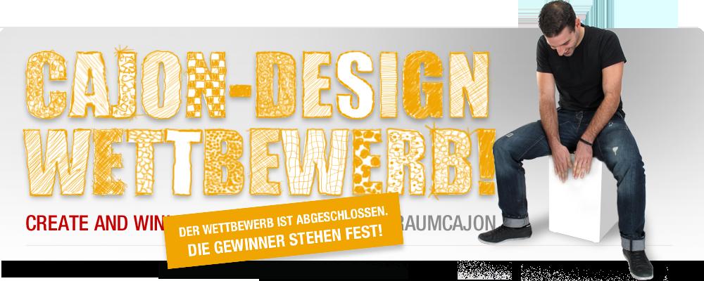 Cajon Design Wettbewerb
