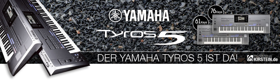 Yamaha Tyros 5 ist da!