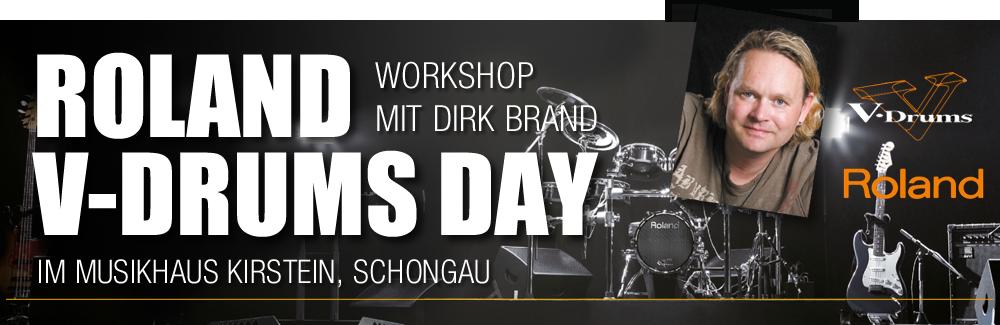 Roland V-Drums Day mit Dirk Brand