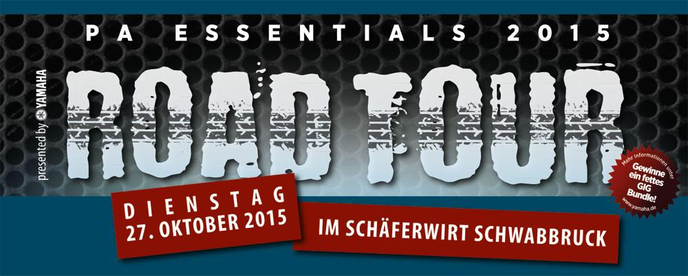 Das Musikhaus Kirstein freut sich auf die diesjährige Yamaha Pro Audio Roadtour! Save the date: 27. Oktober 2015, Schäferwirt Schwabbruck!