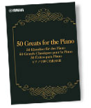 50 Klassiker für das Piano - Yamaha Preset Songs