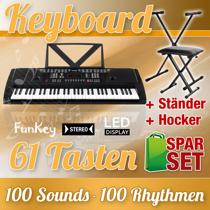 61-TASTEN-KEYBOARD-SET-STANDER-STATIV-PIANO-SITZBANK-E-PIANO-KLAVIER-SYNTHESIZER