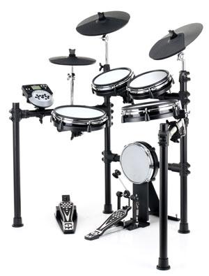 Das XDrum DD-530 ist für Ihren lauten, kraftvollen Bühnenauftritt genauso gut geeignet wie zum leisen Üben zu Hause.