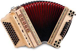Die Ecoline-Instrumente von Zupan sind wahre Naturschönheiten.