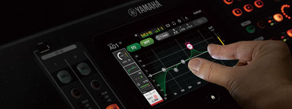 Intuitive Benutzeroberfläche, optimiert für Touchpanel-Bedienung