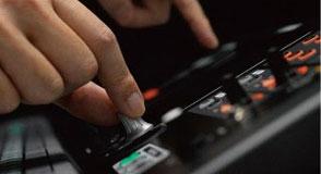 Bedienung im Handumdrehen dank Touch & Turn-Regler