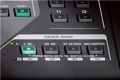 Umfassende Faderbank-Sektion