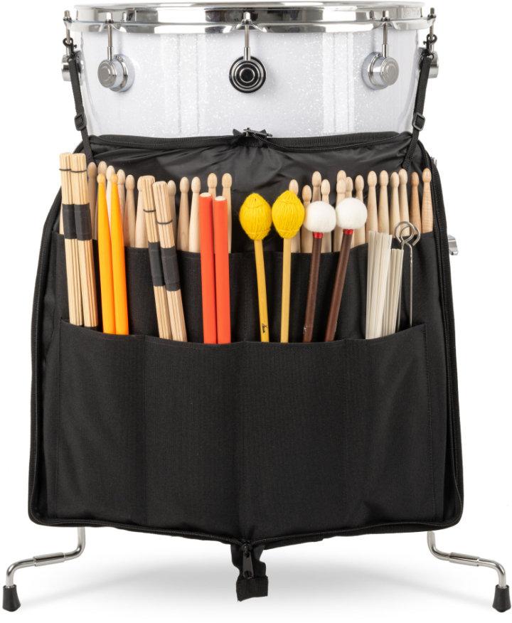 XDrum Stickbag Large an Standtom montiert