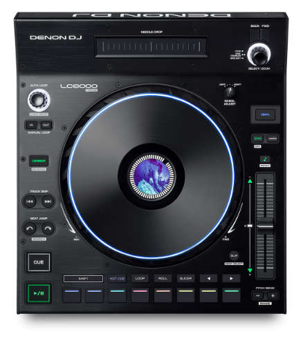 Denon DJ LC6000 Prime Draufsicht